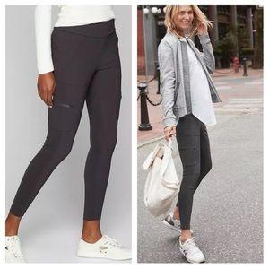 Athleta Highline Hybrid Cargo Tights Pants in Grey